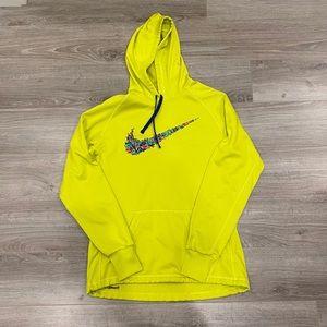 Women's Lime Green Nike Hoodie